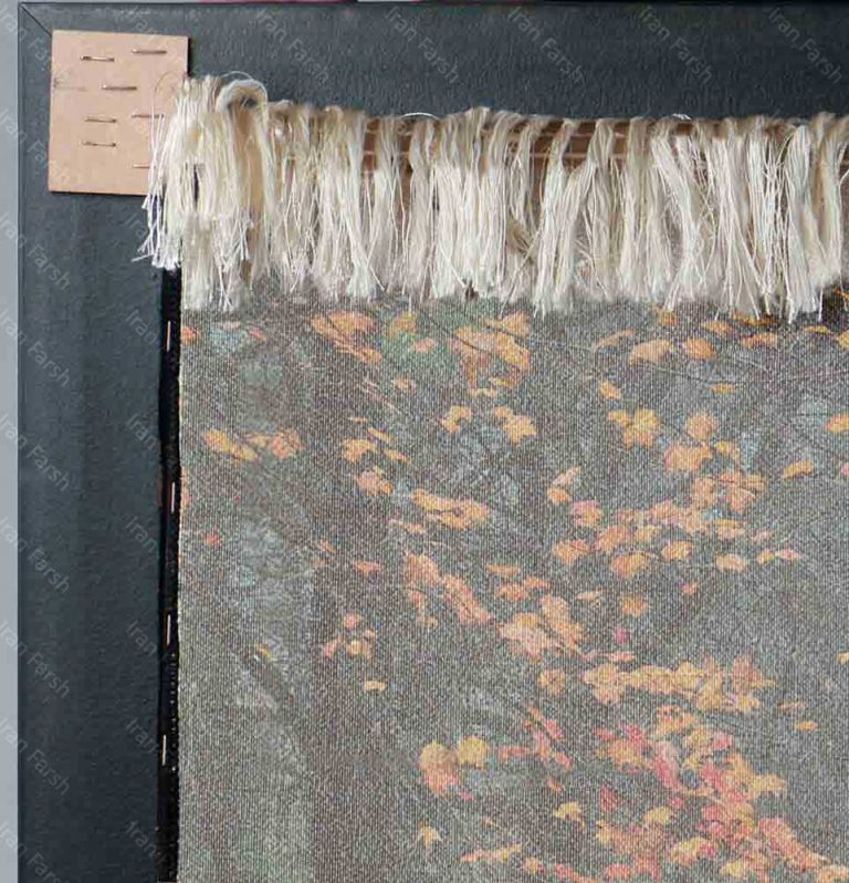 تابلو-فرش-ماشینی-ایران-فرش-رنگارنگ
