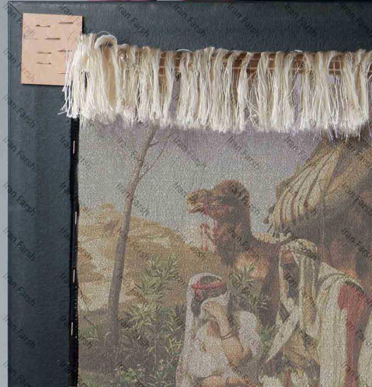 تابلو-فرش-ایران-فرش-خواستگار-عرب
