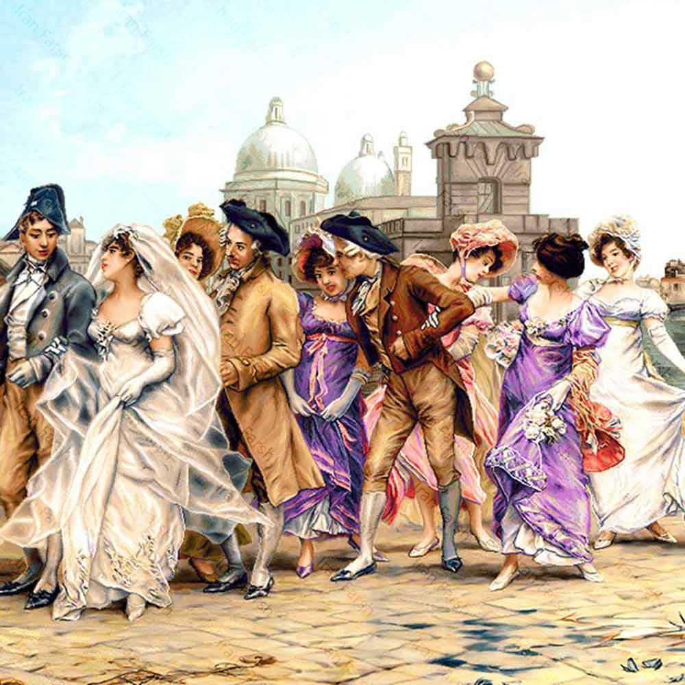تابلو-فرش-فرش-ایران-عروس-ونیز