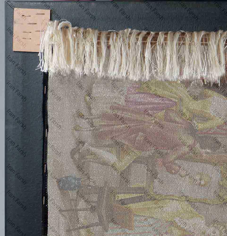 تابلو-فرش-فرش-ایران-نقاش-باشی