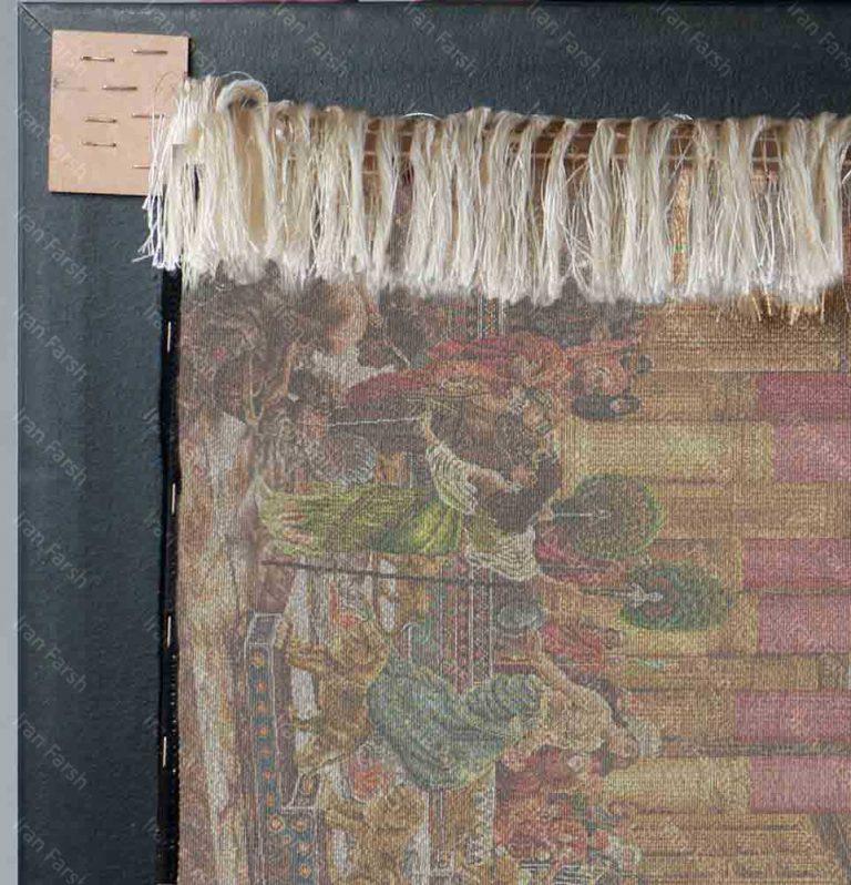 تابلو-فرش-فرش-ایران-کوروش