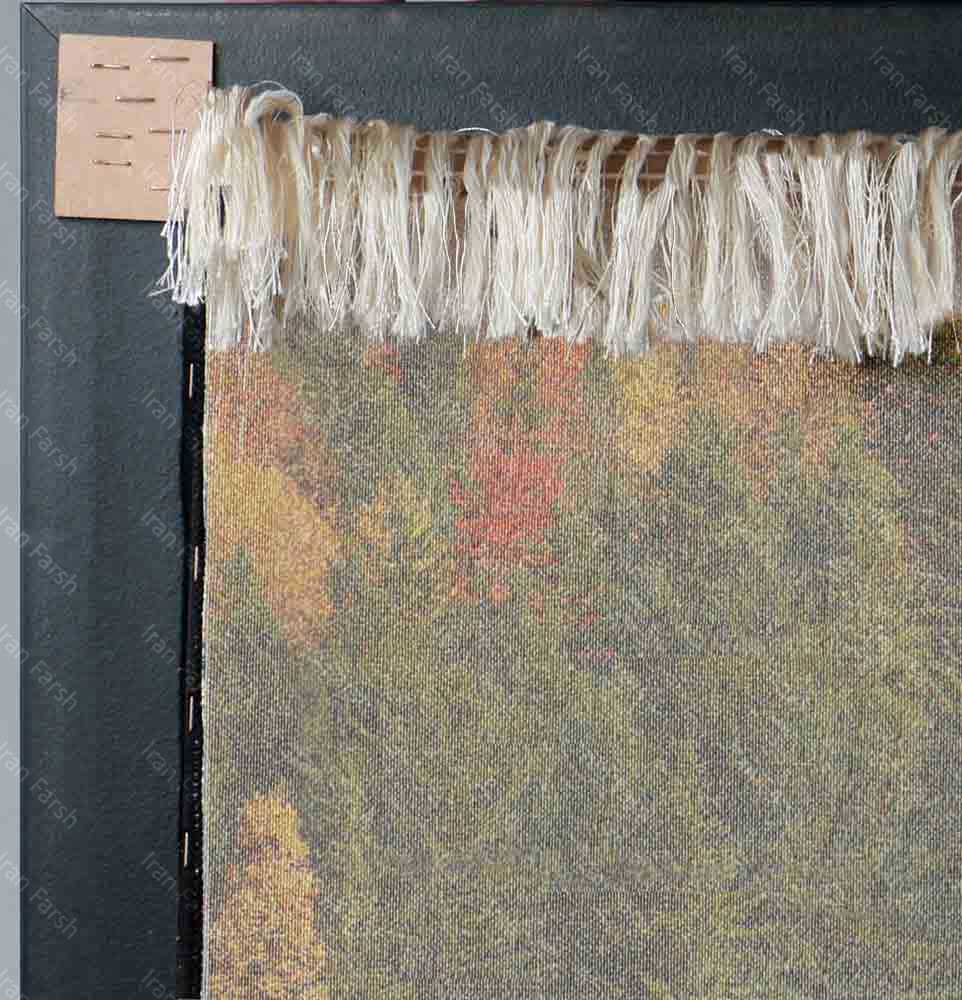 تابلو-فرش-ماشینی-ایران-فرش-خزان