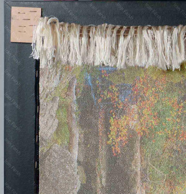 تابلو-فرش-ماشینی-ایران-فرش-چهار-فصل
